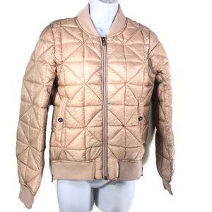 STEVE MADDEN Puffer Packable Quilt Bomber Jacket